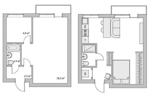 Сколько стоит перепланировка квартиры