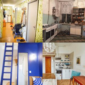Перепланировка комнаты в коммунальной квартире