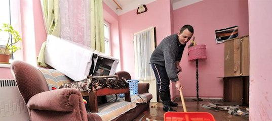 Оценка ущерба после залива квартиры