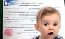 Порядок регистрации несовершеннолетних детей